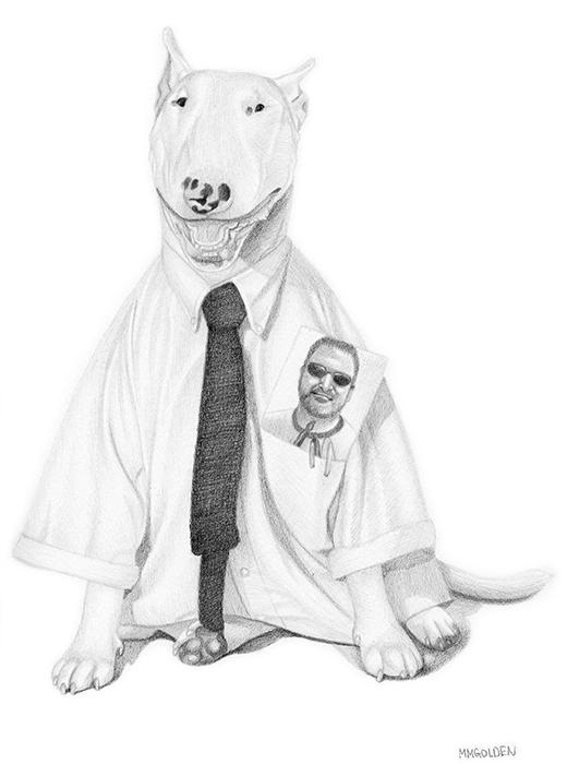 Mack the working class dog